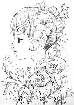 Desenho de Jeremiah Ketner https://www.facebook.com/JeremiahKetner/?fref=ts