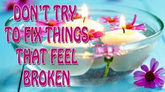 Abraham Hicks 2015 - IMPORTANT ***Don't try to fix things that feel broken