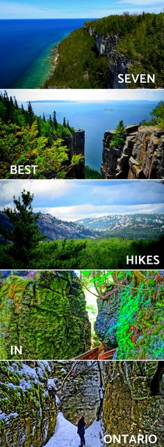 Best Hikes in Ontario with Awesome Views Discover incredible hiking trails in Canada that go beyond the Rockies! Here are 7 of the Best Hikes in Ontario with Awesome Views! Hiking Europe, Go Hiking, Hiking Trails, Hiking Gear, Hiking Shoes, Hiking Food, Colorado Hiking, Hiking Backpack, Alberta Canada