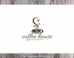 Logo Design OOAK Logo Premade Logo & Watermark Coffee Logo Coffee Heart Logo…                                                                                                                                                                                 More