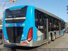 Ônibus da empresa Viação Paratodos > São Jorge > Metropolitana São Paulo > Mobibrasil, carro 6 3183, carroceria CAIO Millennium BRT, chassi Scania K310UB 6x2. Foto na cidade de São Paulo-SP por Renan Leite Ribeiro da Costa, publicada em 10/02/2017 20:20:01.