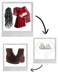 """""""I'm Not the Normal Type"""" by juliagracekidd ❤ liked on Polyvore featuring Polaroid, Forever 21 and Frye"""