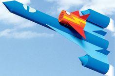 Veja como fazer um avião com foguete e brinque muito de aventura espacial com ele! http://abr.io/2th7