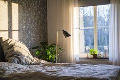 Bedroom, sovrum, interior, scandinavian interior, Sense of silence, scandinavian decoration, linen, decor, wallpaper, nocturne tapet, Boråstapeter Nocturne, Feng Shui, Decor Ideas, Interior Design, Bedroom, Inspiration, Home Decor, Nest Design, Biblical Inspiration