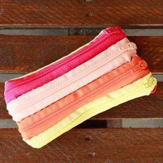Make a zipper coin purse