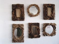 Check out this unique home decor made from tree branches, twigs, sticks and driftwood. Most of the supplies needed to make these items ca...