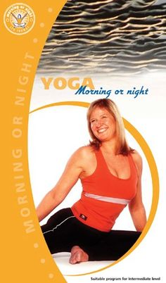 YOGA Morning or Night by Lyn Thomas #YogaDVD #Yoga Morning Yoga, Yoga For Beginners, Night, Yoga For Complete Beginners, Yoga Beginners, Beginner Yoga