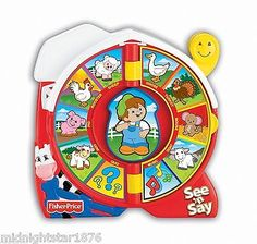 Fisher-Price See 'n Say The Farmer Says Toy NEW Toys Games Baby Boy Girl