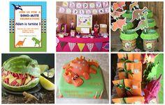 Idee per festa compleanno tema dinosauri. Da compleanni.com