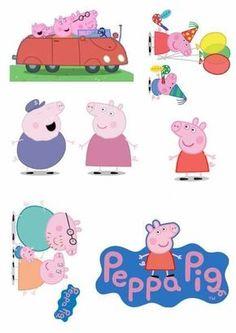 Ideias para Festa Peppa pig => Mira este tablero para descubrir un puñado de pins originales iguales a este. Pig Birthday, Third Birthday, 4th Birthday Parties, Birthday Ideas, Peppa E George, George Pig Party, Fiestas Peppa Pig, Cumple Peppa Pig, Peppa Pig Familie