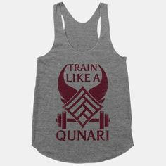 Train like a qunari tank