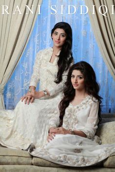 Pakistani Fashion--Urwa and Marwa  Hocane