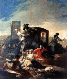 Francisco de Goya. The-Crockery-Vendor-1779, Museo-del-Prado-