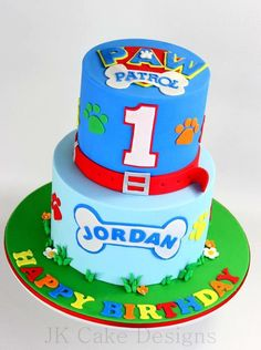 Paw Patrol party supplies - Lifes Little Celebration Bolo Do Paw Patrol, Torta Paw Patrol, Torta Baby Shower, Cake Disney, Paw Patrol Party Supplies, Cake Designs For Boy, Paw Patrol Birthday Theme, Little Pony Cake, My Birthday Cake