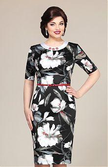 Платья для полных женщин: купить женские платья больших размеров в интернет магазине «L'Marka» [Страница 14]