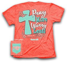Cherished Girl by Kerusso Christian T-Shirt | Pray More Worry Less | Free U.S. Shipping