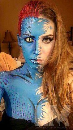 Lianne Moseley #Kryolan #bodypainting #makeupisascience