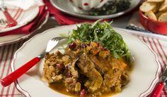 Casserole de dindon aux canneberges (À enfourner)/qu est ce qu on mange pour souper/danny st pierre