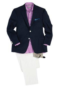 Kavajer · refinedcoast  Holt Renfrew  Informal Spring... Stil Gentleman 239a5176cb654