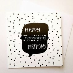Mature Birthday Card Funny Swear Word For Adults GBP