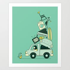 There's still room for one more Art Print by AGRIMONY // Aaron Thong
