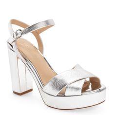 "c3f5ecfabe0bc7 Vince Camuto ""Imagine"" Platform Heels NWT. Poshmark. Shop Women s Vince  Camuto Silver ..."
