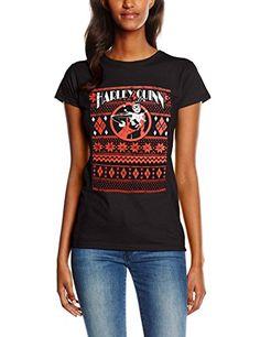 CID HARLEY QUINN - FAIR ISLE-camiseta Mujer #camiseta #realidadaumentada #ideas #regalo