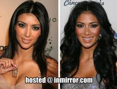 Kim Kardashian - Nicole Scherzinger from the Pussycat Dolls Lilit Avagyan, Melissa Molinaro, Celebrity Look Alike, Celebrities Then And Now, Nicole Scherzinger, Female Stars, Kardashian Style, Hollywood, Celebs