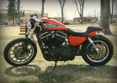 2007 Harley Davidson Sportster Cafe Racer Roland Sands Parts For Sale