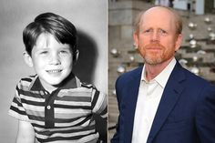 Ron Howard ... then and now