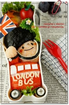Bento London Bus Union Jack