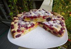 Nagyon gyors gyümölcsös pite Hungarian Desserts, Hungarian Recipes, Fruit Recipes, Pie Recipes, Cooking Recipes, Paleo Sweets, Fall Desserts, Winter Food, Sweets