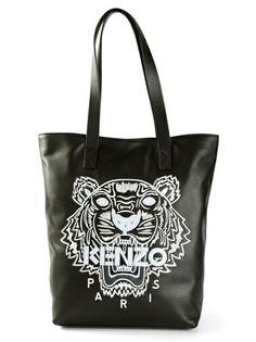 Kenzo Tiger Head Shopper