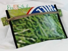 Estuche de tela PVC o pendón reciclado