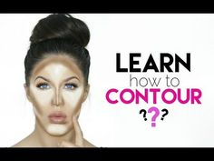 HOW TO CONTOUR FOR BEGINNERS!! - YouTube