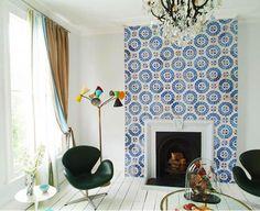 Design Renaissance: Patterned Cement Tiles Are Reborn