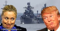 While Americans Fight Over Which Clown to Elect, Russia Deployed Its Largest Fleet Since the Cold War Claire Bernish October 20, 2016 1 Comment Read more at http://thefreethoughtproject.com/russia-fleet-war-election-clowns/#GGyixAMiygW7mzcS.99
