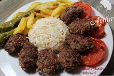 Türkische Frikadellen -En lezzetli köfte tarifi#meinerezepte