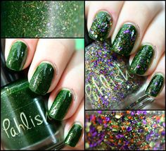 Pahlish Fall 2013 Dark Carnival Duo: Tom Fury and The Dust Witch Swatches & Review
