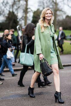 Street looks à la fashion week automne-hiver 2016-2017 de Londres | Vogue