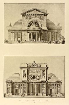 Temple designs, Jean Charles Delafosse