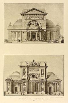 Храм проектирует, Жана Шарля Делафосса
