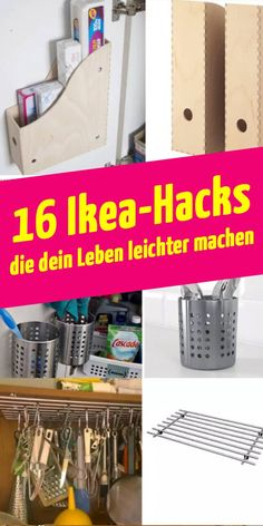 16 nützliche Ikea-Tricks, die dein Leben leichter machen The Effective Pictures We Offer You About home cleaning hacks A quality picture can tell you many things. Ikea Hacks, Diy Hacks, Organizing Hacks, Diy Organization, Cleaning Hacks, Diy Organizer, Tips And Tricks, Libreria Billy Ikea, Diy Home Crafts