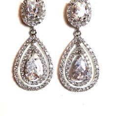 Temptations Bridal Jewelry Earrings