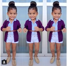 She is adorable! Adorable kids / little girls fashion.