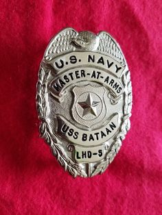 American Western Old West Lawman Chief Of Police Badge Ennis Texas New
