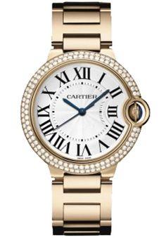 c7264145aae Cartier Ballon Bleu 18K Rose Gold Unisex Replica Watch WE9005Z3