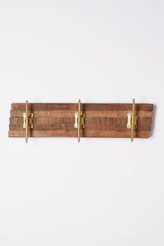 Reclaimed Wood Hook Rack - anthropologie.com