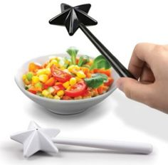 Magic Wand Salt & Pepper Shakers! Feel like a wizard every time you need a dash of spice. Yes!