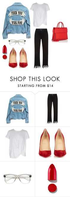"""""""Jan. 5th"""" by boho-love on Polyvore featuring 3x1, MINKPINK, Christian Louboutin, ZeroUV, Rodin and Givenchy"""